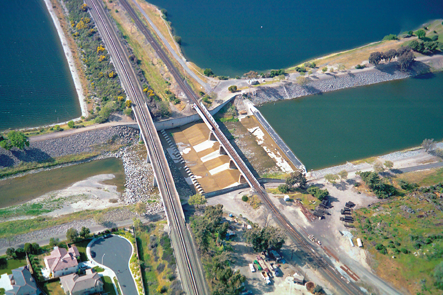 Aerial view of BART weir FORMAT_web