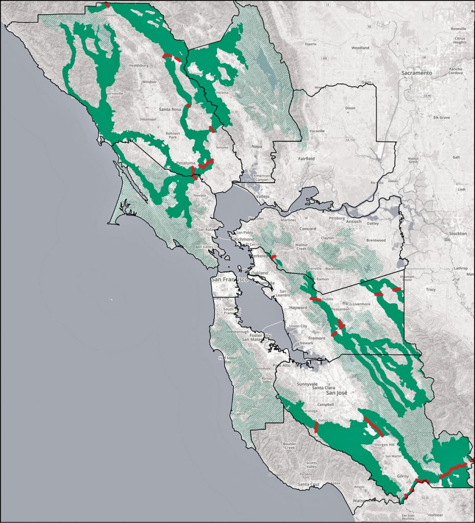 A Safe Passage For Wildlife Bay Area Monitor Map of highways that will get you to colorado. a safe passage for wildlife bay area